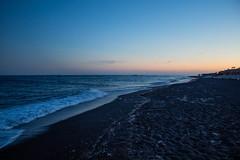 Perivolo - Sunset (Salvatorinho) Tags: greece thira plage beach santorini santorin