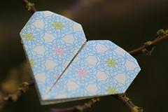 Origami (susi_59) Tags: macromondays hobby origami carta cuore