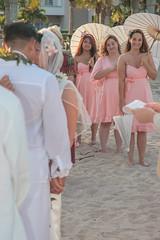 Wedding couple and bridesmaids (mccobb) Tags: mccobb canon canon20d wedding bridesmaids beach fortlauderdale beachweddings
