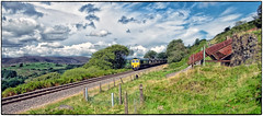 Welsh Coal Fields (Welsh Gold) Tags: 66518 6c93 cwmbargoed port talbot coal train nany y ffin no2 drift mine slag heaps taffbargoedvalley southwales