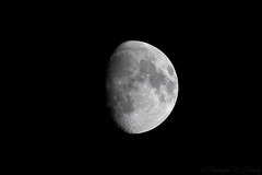 Waxing gibbous moon (applemacman2010) Tags: canon 7dmkii 100400f4556lisusmii moon waxing gibbous lunar night nature norfolk