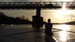 IMG_8962 (fergusmainland) Tags: newcastle nubc university tyne canottaggio cannon sunset rowing aviron rudern sunrise british boat
