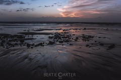 Pevensey bay at dawn (bertie.carter.photography) Tags: sand beach dawn rocks colourful bay sussex pevensey east unitedkingdom seascape