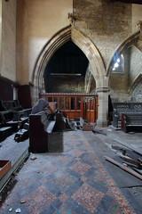 Church of Costa6 (Landie_Man) Tags: church costa urbex yorkshire coffee st andrews derp derpy religion abandoned disused closed shut retail survivor