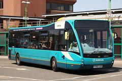 Optare Versa (DennisDartSLF) Tags: watford bus optare versa arriva 4185 arrivatheshires kx62jjo