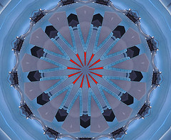 Underdevelopment (Kombizz) Tags: c55 kombizz kaleidoscope experimentalart experimentalphotoart photoart epa samsung samsunggalaxy fx abstract pattern art artwork geometricart blue gray grey red black underdevelopment