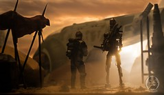 Retrieval (TX-0666) Tags: nikon sunset star wars actionfigure photoshop