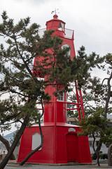 Old Wadamisaki Lighthouse(旧和田岬灯台) (Hideki-I) Tags: lighthouse nikon d850 58mm suma kobe hyogo japan 和田岬 灯台 red