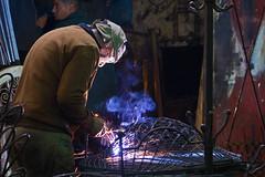 arc light - Marrakech, Morocco - Nov 2018 (Dis da fi we) Tags: jemaa elfnaa marrakech morocco arc light welding weld welder