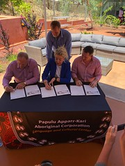 Barkly Deal signed, Tennant, 10/12/2018