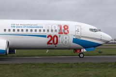 Boeing 737-8Q8(WL) Enter Air SP-ENX (herpeux_nicolas) Tags: boeing boeing7378q8wl 7378q8wl b737800 b737 737800 enterair spenx 7378q8 msn30627 cn3027 ln752 n1786b y189 cfmi cfm567b27 cfmicfm567b27 cfminternational e4 taxiway 100yearsofindependence 100latniepodległości winglets winglet nextgen charter lowcost