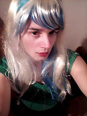 green top and black skirt 1 (Night Girl (my feminine side) :)) Tags: feminine me crossdress cd crossdressing cross dress dresser boy femboy