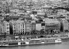 DSC_0093 (peter-agoston) Tags: budapest pest danube szabadsaghid hungary blackandwhite blackandwhitestreet gellerthegy gellerthill city cityscape