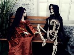 (claudine6677) Tags: bjd msd asian dolls mystic kids lillian skeleton reaper