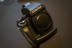 DSC08363 (NewScreenName4Me) Tags: contax 645af 4sale batteryholder mp1
