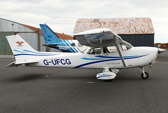 G-UFCG (GH@BHD) Tags: gufcg cessna cessna172 skyhawk ulsterflyingclub newtownardsairfield newtownards aircraft aviation airliner