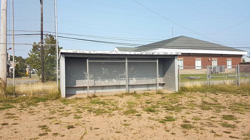 The Dugout - Abandoned Baseball Field