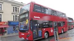 P1150442 VMH2551 LA68 DXT at Archway Station Junction Road Archway London (LJ61 GXN (was LK60 HPJ)) Tags: metroline volvob5lhybrid mcv evoseti mcvevoseti 105m 10490mm vmh2551 la68dxt nb956