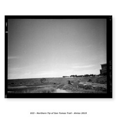 Northern Tip of San Tomas Trail (Godfrey DiGiorgi) Tags: fujigs645s hp5 bw filmlab firstroll landscape ride scan testing alviso california usa