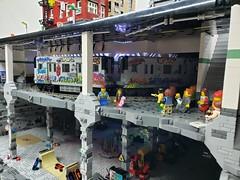 Teenage Mutant Ninja Turtle Sewer-Subway-NYC (ben_pitchford) Tags: teenagemutantninjaturtles newyorkcity nyc subway bronx brooklyn train newyorkpassengertrain traincar graffiti graffitiart tags spraypaintart stickerdecals hobbydecals legocity legomoc legohub bricknetwork streetart