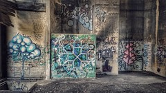 history defiled... (BillsExplorations) Tags: graffiti defaced coalingtower railroad steam forgotten abandonedillinois abandoned historical train urbandecay decay art
