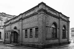 Paulista Company Museum (elcio.reis) Tags: arquitetura museu nikon museum architecture vintage bw pb blackwhite jundiaí sãopaulo brazil br