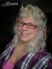 Curls (Monica E Lopez) Tags: androgyny androgynous sissy tg ts tv tgirl trans transexual transgender transsexual transvestite ladyboy shemale genderbender gurl m2f mtf feminization crossdress crossdresser femme feminine feminized hrt hormones passable curls hair glasses