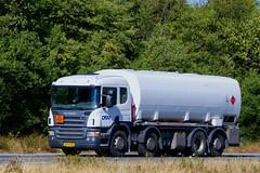 XN92097 (18.07.24, Motorvej 501, Viby J)DSC_6452_Balancer (Lav Ulv) Tags: 256769 scania pseries scaniapseries pgrseries 2009 afmeldt2018 retiredin2018 abgemeldet2018 p400 e5 euro5 8x26 rigid dsv tanker tankvogn tankwagen tanktruck tankvagn truck truckphoto truckspotter traffic trafik verkehr cabover street road strasse vej commercialvehicles erhvervskøretøjer danmark denmark dänemark danishhauliers danskefirmaer danskevognmænd vehicle køretøj aarhus lkw lastbil lastvogn camion vehicule coe danemark danimarca lorry autocarra danoise vrachtwagen motorway autobahn motorvej vibyj highway hiway autostrada