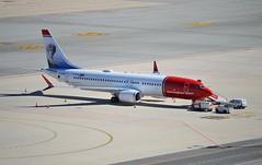 Boeing 737 MAX 8 / Norwegian (Elsa Beskow Livery) SE-RTB (DAGM4) Tags: españa europa europe espagne espanha espagna espana espanya espainia spain spanien 2019 aeropuertodemálaga costadelsol andalucía málaga sertb deniedtoflyairspaceineurope norwegian elsabeskow boeing737max8 prohibitedflying