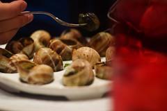 Escargots de Bourgogne    Brasserie le Grand Palais     Foca Oplarex 50mm f1.9 (情事針寸II) Tags: macrodream europe france restaurant food bokeh oldlens champselysées paris cuisinefrançaise escargot focaoplarex50mmf19