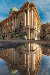 IMG_11448 (maro310) Tags: 2018 70d budacastle budapest canon hungary magyarorszag unesco varnegyed castle city clouds colours outdoor outside palace palota reflection sky spiegelung tel tukrozodes urban winter 500v20f