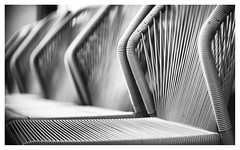 Fading chairs (leo.roos) Tags: chair stoel noiretblanc haarlem dm 2019 angénieux7015 angenieux a7rii angénieuxparisf70115 projectorlens projectionlens darosa leoroos