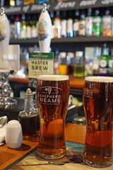 Shepherd Neame Master Brew - Dungeness, UK (Neil Pulling) Tags: dungeness kent england uk pub shepherdneamemasterbrew shepherdneame beer realale pint thebritanniainndungeness