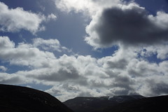 Highland Cloudscape (steve_whitmarsh) Tags: aberdeenshire scotland scottishhighlands highlands mountain hills topic clouds sky