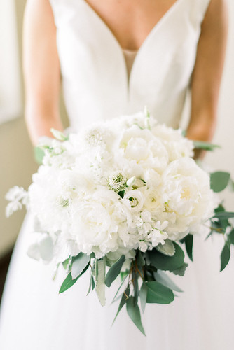 "White Peony Bouquet • <a style=""font-size:0.8em;"" href=""http://www.flickr.com/photos/81396050@N06/46769606884/"" target=""_blank"">View on Flickr</a>"