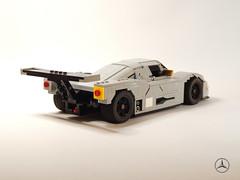 1989 Sauber Mercedes C9 Racecar (Alexander Paschoaletto) Tags: sauber mercedes c9 racecar le mans lego