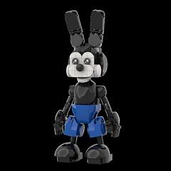 LEGO Oswald (Alex Kelley) Tags: lego moc disney oswald character toy design action figure custom