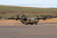 IMG_9034 copy© (Jon Hylands) Tags: raf royalairforce lockheed c130 hercules zh867 military aviation aerospace aircraft sands saunton devon beach panning transport fat albert