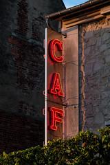 CAF (Drummerdelight) Tags: café pub night lighting light