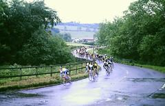 Slide 137-26 (Steve Guess) Tags: albury guildford surrey milk race cycle bike cyclists england gb uk