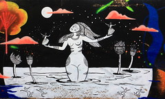 281A6339 Impermanence Galerie Mur6 @Christine Ammour @Maya Wnu @Bibiche zède (blackbike35) Tags: rennes bretagne france impermanence galerie mur wall street streetart paint painting art work writing artistes women