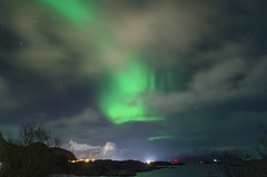 Aurore boréale_2 (Valentin d'Ersu) Tags: scandinavie scandinavia winter lofoten isles island îles norvège aurore boréale northern lights hiver