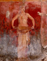 Slave with Owl, Bowl and Bird (chdphd) Tags: campania pompeii art casadeiceii