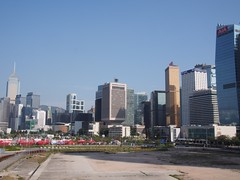 View of the Central harbourfront (procrast8) Tags: hong kong china central plaza harbourfront