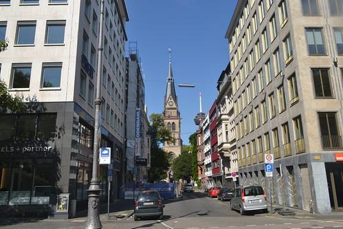 Blick auf Christuskirche in Köln (134FJAKA_1704)