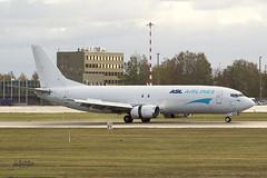 A56A4441@L6 (Logan-26) Tags: boeing 7374z9sf oeiab msn 25147 asl airlines belgium riga intenational rix evra latvia cargo aleksandrs čubikins airport