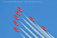 9912 7 ship arrival loop R1 R2 R3 R5 R6 R7 R9 (photozone72) Tags: raf rafat redarrows reds redwhiteblue aviation aircraft jets hawk canon canon100400f4556lii canon7dmk2 7dmk2 scampton lincolnshire