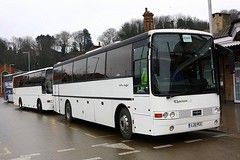 Everywhere is Essex at Ipswich (Chris Baines) Tags: thorns raleigh essex vanhool l20 pcc rail replacement ipswich