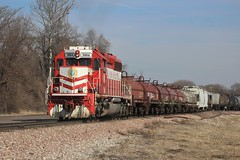 Switching the Terminal (ujka4) Tags: terminalrailroadassociation trra sd402 3004 madison illinois il brooklyn