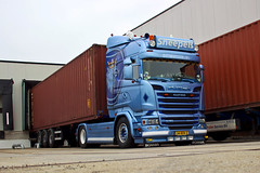 "Scania R Streamline Highline "" SNEEPELS S.T.L. "" (NL) (magicv8m) Tags: scania r streamline highline sneepelsstl nl tir trans transport lkw container"